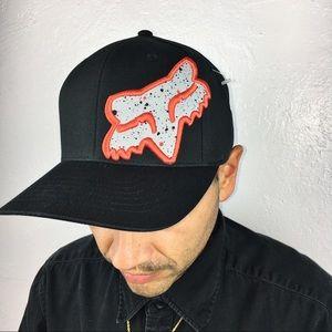 NWOT Fox Racing Hat | Fox 45 Hat speckle BLK Orang